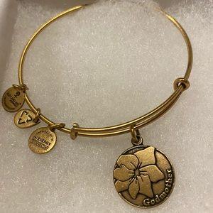 Alex and Ani gold GODMOTHER bracelet
